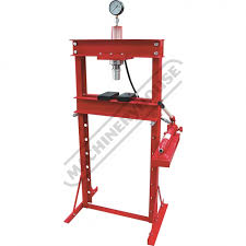 hydraulic presses for sydney brisbane melbourne perth buy pp 20 workshop hydraulic press 20 tonne