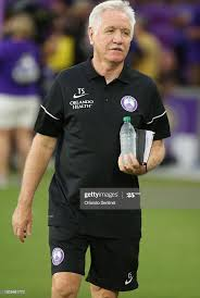 Orlando head coach Tom Sermanni walks onto the field before the start...  News Photo - Getty Images