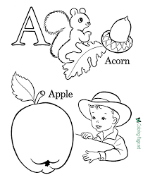 Full page printable alphabet coloring sheets in.pdf format. Alphabet Coloring Pages
