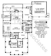 timber bluff cottage house plan 07116 1st floor plan