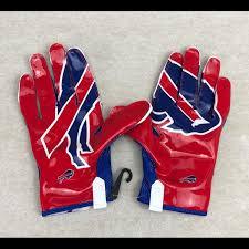 Nike Nfl Stadium Gloves Size Chart Nike Vapor Buffalo Bills Wide Receiver Gloves Xxl Nwt