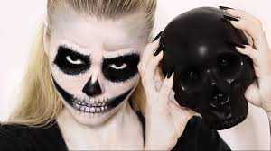 easy skull makeup tutorial you mugeek vidalondon