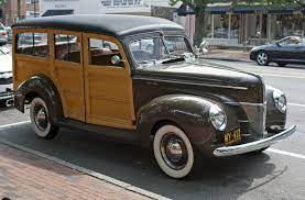 Ford Woodie Station Wagon History (Page ...