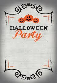 Free Halloween Birthday Invitation Templates Halloween Party Free Printable Halloween Invitation
