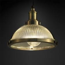 bronze chrome dome pendant lamp