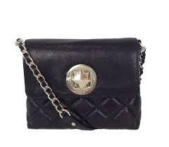 Kate Spade Gold Coast Dara Quilted Leather Crossbody Bag, Black &  Adamdwight.com