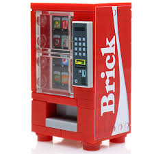 Mini Soda Vending Machine Unique Brick Custom LEGO Soda Vending Machine Build Better Bricks