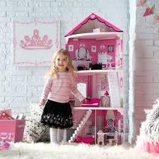 barbie size dollhouse furniture set. Barbie Dollhouse Furniture Size Girls Playhouse Wooden Dream Play Doll House Set O