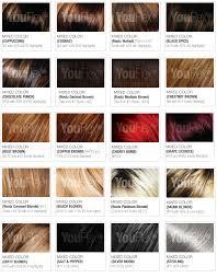 Hair Color Chart Youflex Blog