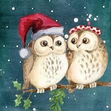 God Jul Ugglor Vintern - Gratis bilder på Pixabay