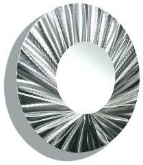 wall mirrors round metal wall mirror modern mirrors small decorative circle black contemporary huge silver