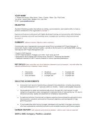 Finance Objective Resume Professional Objective For Resume Finance