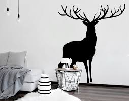 Small Picture Stag YOUR DECAL SHOP NZ Designer Wall Art Decals Wall