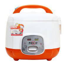 Nồi cơm điện Pengo PG-518DC_Màu Cam - Hàng chính hãng - Nồi cơm nắp gài  Thương hiệu PENGO