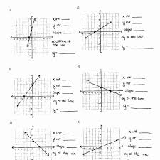 graphing lines in slope intercept form worksheet worksheet resume linear equation from graph worksheet jennarocca aequipe