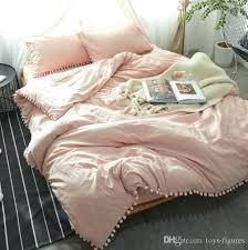plaid velvet quilt cover soft printed flannel bedding set with pillow case bed sheet bedspread duvet pink velvet quilt