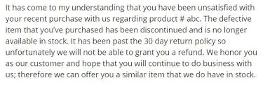 Sample Doctors Note For Travel Cancellation How To Decline Refunds By Email Termsfeed