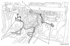 vauxhall workshop manuals > corsa d > n electrical equipment and n electrical equipment and instruments > wiring harnesses > repair instructions > replace heating venting and air conditioning wiring harness ecc