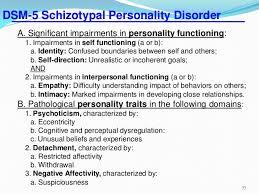 Schizotypal PersonalityDisorder        DSM   Schizotypal Personality     SlideShare