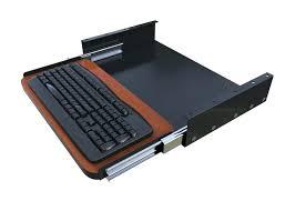 desk pull out tray for keyboard beluga desk with sliding keyboard shelf corner under desk