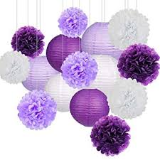 Paper Flower Balls To Hang From Ceiling Amazon Com Sttech1 Pompoms Paper Flowers Tissue Ceiling