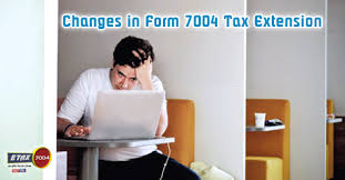 Etax7004 Blog | E-File Irs Business Tax Extension Form 7004