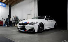 Coupe Series bmw m4 f82 : Alpine White F82 M4 Featured at BMW SEMA booth
