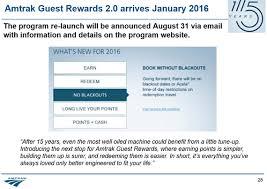 Amtrak Guest Rewards Redemption Chart Amtrak Revenue Based Amtrak To Tie Award Prices To Ticket
