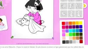 Dora Exploratrice Coloriage En Ligne Dora Jeu Hd Youtube