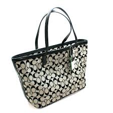 Home · Coach · Legacy Weekend Signature Reps Medium Tote Black. CLICK  THUMBNAIL TO ZOOM. Found ...