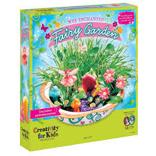 com creativity for kids enchanted fairy garden craft kit fairy crafts for kids toys