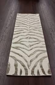 nuloom earth irridescent zebra rug