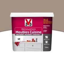 Peinture De Rénovation Meubles Cuisine V33 Taupe Satin 075l Castorama