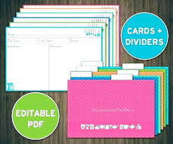 Index Card Recipe Template T On Index Cards Template Recipe Table Flashcard Word Card
