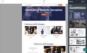 professional webtemplate consulting website template review