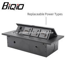 desk power outlet. China Useful Electric Pop Up Tabletop Power Outlet, Metal Slap-up Hidden/concealed Desk Outlet L