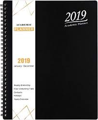 Amazon Com 2019 Planner Academic Weekly Monthly And Yearly