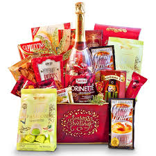 new year s gift basket