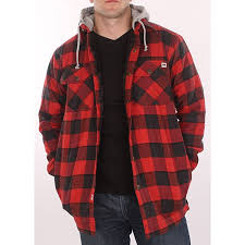 12 best images about Clothes on Pinterest | Crew neck, Country ... & Farmall IH Men's Red Plaid Hooded Flannel Jacket Adamdwight.com