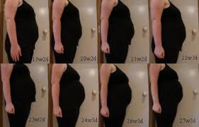 Pregnancy Stomach Size Chart Small Belly Size For Twin Pregnancy Twins Triplets Quads