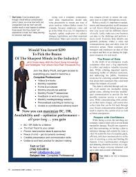 Disaster Recovery Journal Winter 2017 Page 40