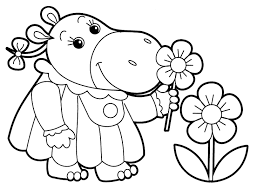 Small Picture Little Kids Coloring Page Free Download