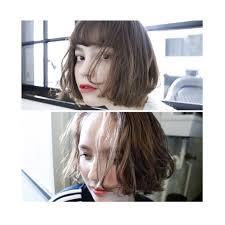 2019年のモテ髪前髪なしパーマボブで流行りの髪型 Arine アリネ