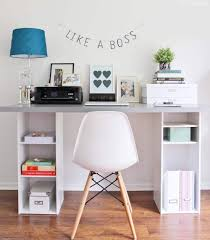 desk for home office ikea. The Perfect IKEA Hack Desk For A Home Office Or Craft Room! Ikea