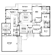 Amazing 5 Bedroom Ranch House Plans Photo   1