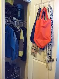 reach in closet organizers do it yourself. Hall Closet Organization Ideas And Storage - Hooks Instead Of Hangers Reach In Organizers Do It Yourself I