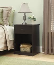 Suitcase Nightstand amazon ameriwood home core nightstand espresso kitchen & dining 6443 by guidejewelry.us