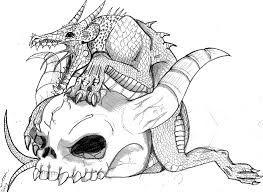 Small Picture demon coloring pages Google Search mythical dragonunicorn