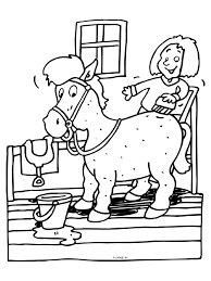 Stal Verzorging Paard Knutselpaginanl Knutselen Knutselen