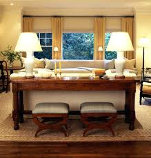 sofa table in living room. Console Sofa Table In Living Room O